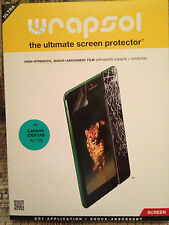 Wrapsol Ultra Screen Protector Lenovo IDEATAB A2 109 Tablet NEW SEALED LOOK!!!