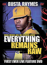 BUSTA RHYMES - EVERYTHING REMAINS RAW: LIVE CONCERT DVD