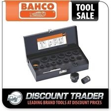"Bahco 16 Piece 1/2"" 3/8"" Twist Socket Set Removes Damaged Screws & Bolts BWTSP16"