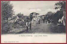 VIBO VALENTIA SANT'ONOFRIO 01 TERREMOTO 1905 Cartolina
