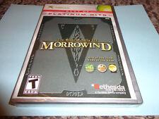 The Elder Scrolls III: Morrowind (Platinum Hits Edition) (Microsoft Xbox, 2002)
