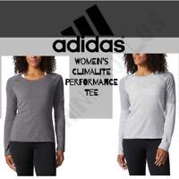 NEW ADIDAS Women's Long-Sleeve Performer Shirt - Yoga, Lightweight VARIETY
