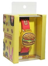 Bob's Burgers The Final Kraut Down Burger Wrist Watch Rubber Wristband