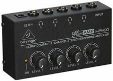 Behringer Microamp HA400 Amplificador -Negro