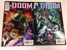 Doom 1 2 3 2000 Chuck Dixon Mini series Dr. Doctor