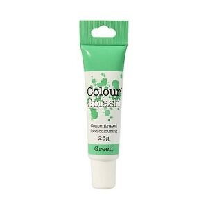 Culpitt COLOUR SPLASH GEL - Food Colouring Concentrated Paste Fondant (25g Tube)
