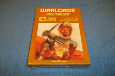 BRAND NEW ( NOS ) ATARI 2600 WARLORDS GAME IN FACTORY SHRINK WRAPPED BOX 7800