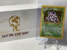 Nidoking 11/102 Rare Holo Pokemon TCG Base Set Unlimited WOTC 1999