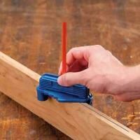 Multifunction Center Offset Scriber Marking Tool Magnetic Carpenter Bottom New