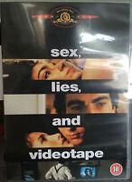 James Spader SEX LIES & VIDEOTAPE | 1989 Steven Soderbergh Indie Classic UK DVD