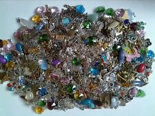 Lot Of  100 Jewellery Making Charms /Pendants (silver and glass and more)
