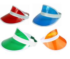 POKER HAT / VISOR - 4 COLOURS TO CHOOSE FROM UK SELLER