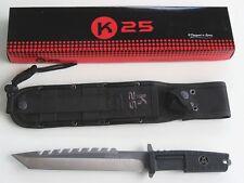 K25 GÜRTELMESSER TACTICAL KNIFE TANTO STYLE 32177 NEU/OVP