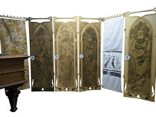 A&O Art Nouveau Room Divider Folding Screen Alfons Mucha, mini dressing room