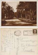 PALERMO - VILLA BUONANNO 1940 - TARGHETTA REFERENDUM EIAR