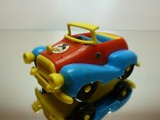 DISNEY VINTAGE CAR UNCLE SCROOGE MICKEY MOUSE L9.5cm - GOOD CONDITION