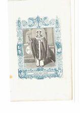 1852 Grabado, San Niceto Obispo y Confesor