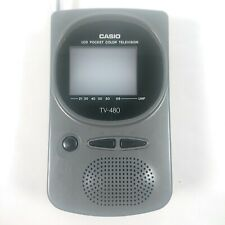More details for vintage casio lcd pocket colour television model tv-480 in sleeve - working