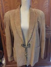 LEATHER REDITION TAN WOMEN JACKET (SW)