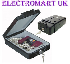 PORTABLE TRAVEL SAFE BOX MOUNTABLE CAR HOME OFFICE CARAVAN MOTOR HOME LORRY VAN