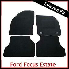 Ford Focus Estate Mk2 2004-2011 Tailored Fitted Carpet Car Floor Mats BLACK