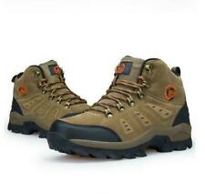 Men waterproof lightweight suede winter outdoor tactical hiking boots shoes chic