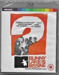 Otto Preminger's: Bunny Lake Is Missing Blu Ray All Regions Includes Reg Post