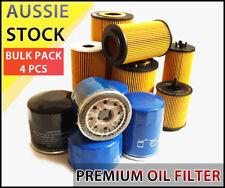 Oil Filter R2633P R2652P WCO79 Fits VOLVO S40 S80 V50 XC90 2.4L Diesel 4PCS