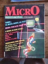 MICRO ORDINATEURS N° 13 le mensuel de la micro-informatique et de ses u