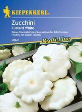 Kiepenkerl Zucchina Crema pasticcera White bianco 2860 a forma di piattino