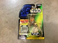 1997 Star Wars POTF green card Ewoks Wicket & Logray figures, FREE shipping