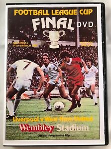 WEST HAM UTD vs LIVERPOOL 1981 LEAGUE CUP FINAL & REPLAY DVD - 'CLASSIC GAME'