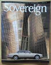 JAGUAR SOVEREIGN orig 1999 International Magazine Brochure - Edition 26