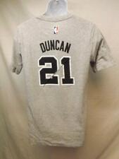 New-Minor Faille San Antonio Spurs Tim Duncan Adidas Jeune XL 18 Gris Chemise