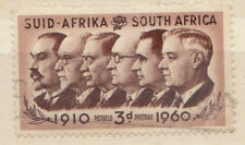 3d south africa stamp - 1960 brown - see scan