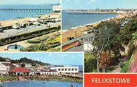 Rare Lovely Vintage Postcard Felixstowe Seaside Town, Suffolk, England Unposted.