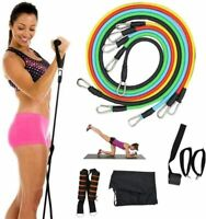 Fitness Resistance Bands  Strength Exercise 11pcs / Set Sport Elastic Rope