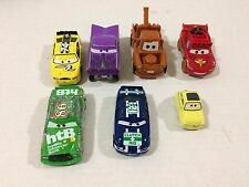Disney 7 Cars McQueen Mater Ramone Luigi Chick Hicks Sidewall Shine Clutch Aid