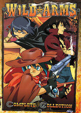 Wild Arms - The Complete Collection (DVD, 2005, 5-Disc Set) ADV