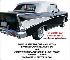 CHEVROLET BELAIR CONVERTIBLE TOP DO IT YOURSELF PACKAGE 1955-1957
