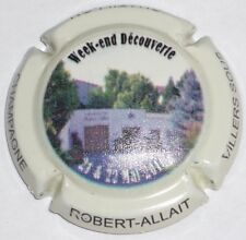 31. habillage blanc Capsule de champagne ALLAIT-ROBERT