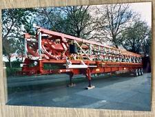 Foto SHOT N DROP Huss Roie Transport - Kirmes Schausteller Funfair LKW Fahrchip