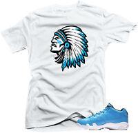 "T-Shirt to Match the Air Jordan Retro  9 Low Pantone ""Chief 9 "" White Tee"