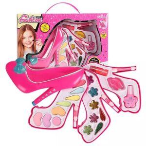 Girls Kids Princess Pretty Makeup Set Eye Shadow Make Up Children Kits Gift - UK