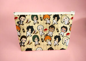 The Promised Neverland Large Pencil case School Zipper Pouch