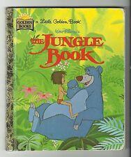 Little Golden Books - The Jungle Book (1996, Hardcover) Good