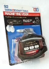 TAMIYA MAGNIFYING VISOR Craft Tool with 1.7x / 2x / 2.5x LENSES +Tracking Number