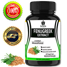 FENUGREEK SEED 2000mg EXTRACT CAPSULES TESTOSTERONE LIBIDO SEXUAL HEALTH PILLS