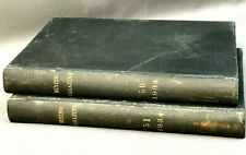 1934 The Mining Magazine Bound - 2 Vol. - London - Vtg Mining Memorabilia Smt
