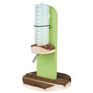 Trixie Natural Living Water Bottle Holder, Freestanding, for Rabbit & Guinea Pig